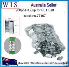 200pc/PK PET Strap Seals,Metal Seals Packing Strap Clips for PET Strap -77107
