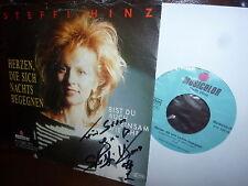 Steffi Hinz, Herzen die sich nachts begegen, Musicolor 01010070, Autrogam !!!