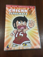 CHICHO TERREMOTO VOL 1 - 2 DVD - EPS 1 A 8 - 200MIN REMASTERIZADA SELECTA VISION