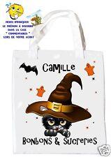 sac à bonbons halloween shopping  sac à cadeaux  réf 19