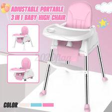 Kinderhochstuhl 3 in1 Baby Essstuhl Sitzerhöhung Treppenhochstuhl Klappbar Xmas