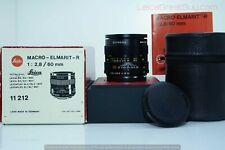Leica Macro-Elmarit-R 60mm f/2.8 3 Cam Lens Boxed #3279585