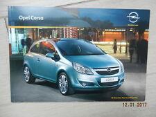 Catalogue Opel Corsa avril 2010
