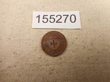 1898 Switzerland 1 Rappen Very Nice Collector Grade Album Coin - # 155270