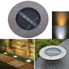 LED Solar Powered Underground Buried Light Lamp Way Road Garden Decking Light