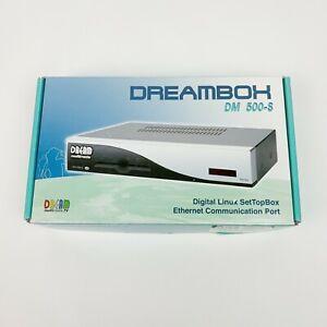 Dreambox DM 500-S Digital Linux Set Top Box New Untested