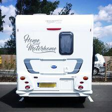 """""""Home Sweet Motorhome"""" Motorhome Vinyl Sticker / Decal, Caravan, Horsebox 2 line"""
