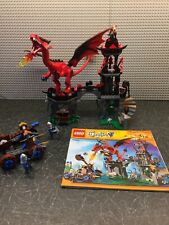 LEGO Castle Dragon Mountain 70403 with 5 mini figures Dragon and instruction