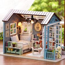 Fai-da-te Miniature Dollhouse Kit Realistico Mini 3D Casa in legno U6Y8