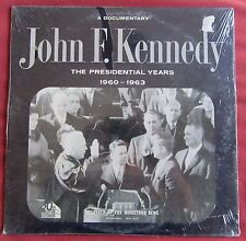 JOHN F. KENNEDY LP ORIG US  THE PRESIDENTIAL YEARS  1960- 1963 NEUF SCELLE