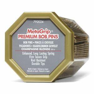 MetaGrip Blonde Premium Bobby Pins