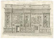 Antique Print-ST. LORENZO-FLORENCE-WALL-Molo-c.1600