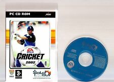 EA SPORTS CRICKET 2002. GREAT GAME FOR THE PC!!