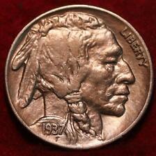 1937-S San Francisco Mint Buffalo Nickel