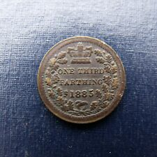 More details for 1885 victoria third farthing recieve the coin pictured free uk p&p