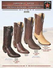 Los Altos Men's Caiman Belly Snip Toe Western Boots