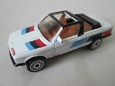 1985 Matchbox White Alpina BMW 323i Cabriolet Convertible Car 1:58 Macau