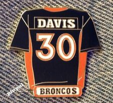 Terrell Davis Jersey Pin~30~Denver Broncos~NFL~Vintage 1998~by Peter David Inc.