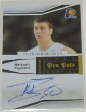 2009/10 Tyler Hansbrough Panini National Treasures Pen Pals Auto Card Ser #13/50
