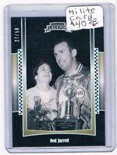 2012 Press Pass Legends SILVER #21 Ned Jarrett Serial #'d 27/50! RARE! NASCAR!