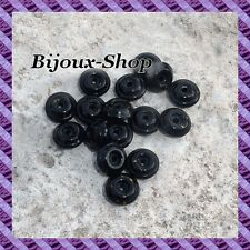 100 Perles spacers résine CCB 6 mm