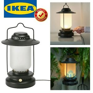IKEA STORHAGA LED Source Black Table Lamp Dimmable Indoor Outdoor