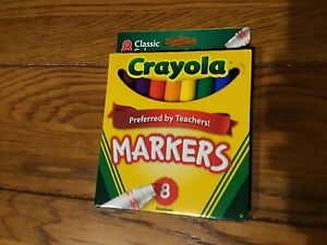 Crayola Markers 8 Pack