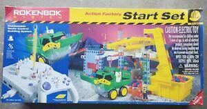 VINTAGE ROKENBOK SYSTEM ACTION FACTORY STARTER SET 34120 USED