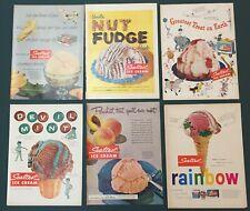 Sealtest Ice Cream Advertisements Lot of 6