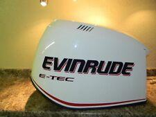 Evinrude E-TEC White Hood Cowl Cowling Cover 200 HP