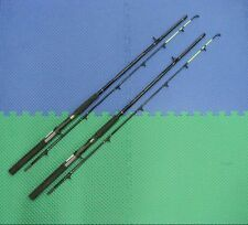 Okuma Classic Pro 7' Med. Lead Core Trolling Rod Chartreuse Tip 2 Pack CPLC-70CT