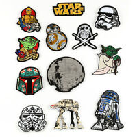 Star Wars Patch Fabric Badges Iron On Clothes Handicraft DIY Embroidered