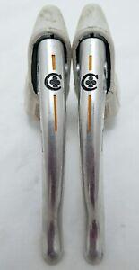 Campagnolo Colnago Nuovo Record Brake Levers - White Hoods, Rare