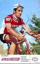 FELIX GONZALEZ Team SUPER SER Signed Autographe cycling ZEUS bikes bicicletas