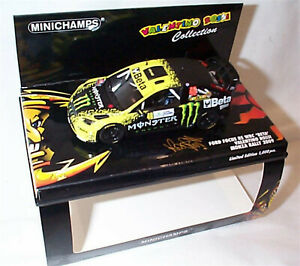 Ford Focus RS WRC Valentino Rossi Monza Rally 2009 Monster Car Ltd Edition New