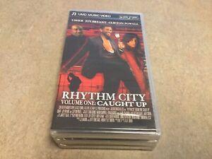 "PSP ""RARE"" Usher: Rhythm City Volume 1 Caught Up (UMD-Music Video)FACTORY SEALED"