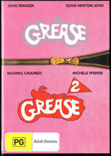 Grease and Grease 2 - REGION 4 - DVD - FREE POST!