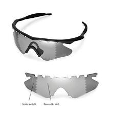 New WL Polarized Transition​/Photochro​mic Vented Lenses 4 Oakley M Frame Heater
