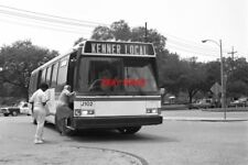 PHOTO  USA BUS 1985 NEW ORLEANS CARROLTON KENNER LOCAL BUS