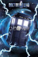 Doctor Who Tardis Metallic POSTER 60x90cm NEW * 11th Dr Time Vortex Police Box