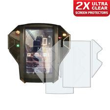 2 x Honda Africa Twin CRF1000L 2018+ Dashboard Screen Protector: Ultra-Clear