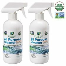 Greenerways Organic All-Purpose Cleaner, Natural USDA Organic Non-GMO, Best Hou