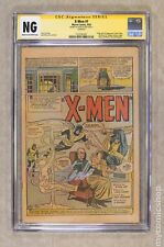 Uncanny X-Men (1963 1st Series) 1 CGC NG Coverless SS Stan Lee 1323181001