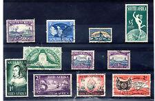 Africa del Sur valores del año 1943-54 (BE-965)