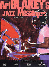 ART BLAKEY'S JAZZ MESSENGERS TDK JAZZ CLUB DVD - FREE SHIPPING