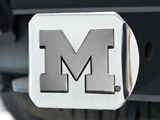 """Michigan Wolverines Heavy Metal Trailer Hitch Cover [NEW] Car Auto Truck 2"""" CDG"""