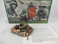 Britains 17141 US Airborne 60mm machine gun Crew World War II Squads (*Mortar)