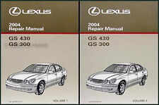 2004 Lexus GS300 GS430 Repair Shop Manual Set NEW Original GS 300 430 OEM Books
