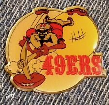 San Francisco 49ers and Tasmanian Devil Pin~TAZ~NFL~Football~Looney Tunes~NOS