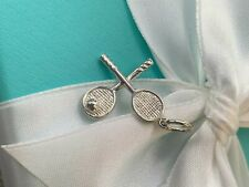 Authentic Tiffany & Co. Tennis Racquet Charm Sterling Silver .925